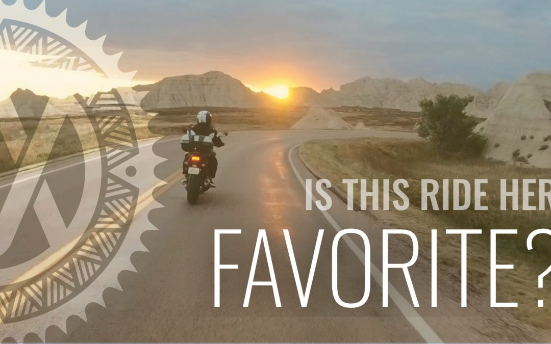 Skunks, Bats, & Badlands Epic Motorcycle Ride